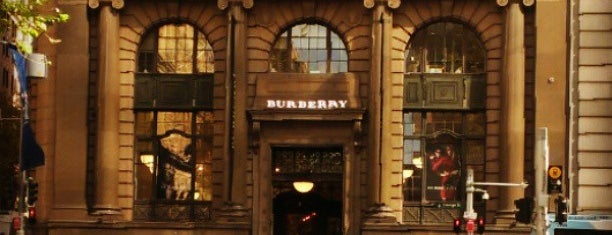 Burberry is one of Sydney.
