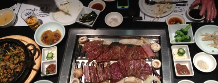 Park's BBQ is one of LA Bar Resto.