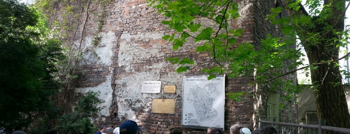 Jewish Ghetto Wall in Warsaw is one of Varsó.