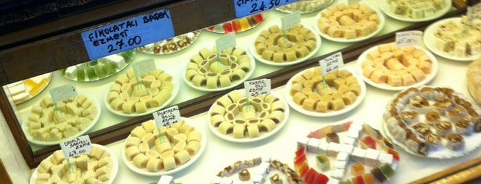 Ali Muhiddin Hacı Bekir is one of Yiyecek İçecek Noktaları.