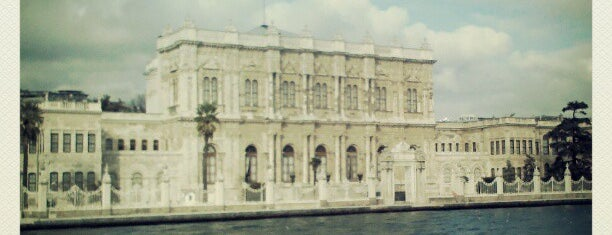 Palacio de Dolmabahçe is one of Istanbul.
