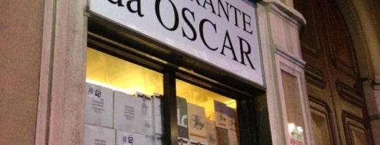 Ristorante Da Oscar is one of Italy.