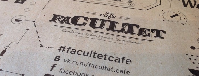 FaCULTet is one of Must taste!.