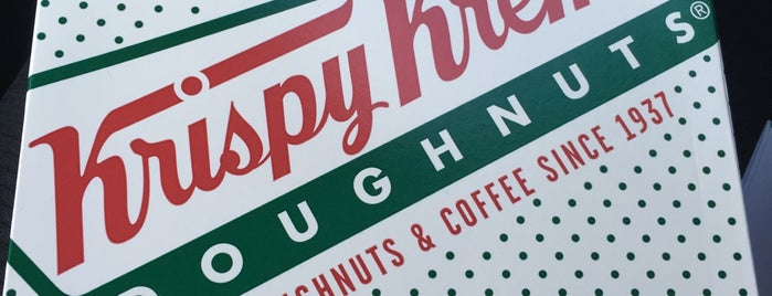 Krispy Kreme Doughnuts is one of Celsoさんの保存済みスポット.