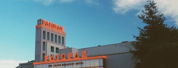 Fairfax Theater is one of Marin County's Best.