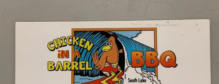 Chicken In A Barrel is one of Posti che sono piaciuti a Matt.