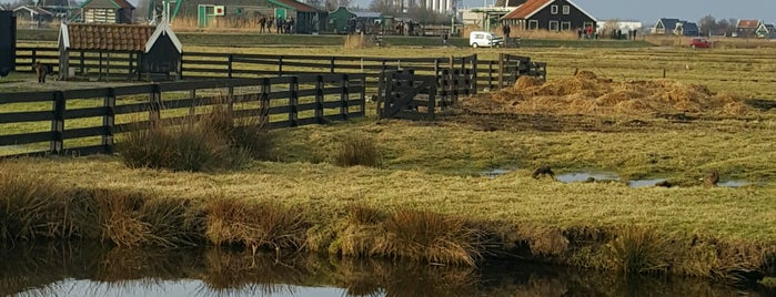 Zaanse Schans is one of Tempat yang Disukai Amit.