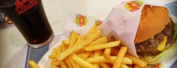 Johnny Rockets is one of Hamburguer's de SP.