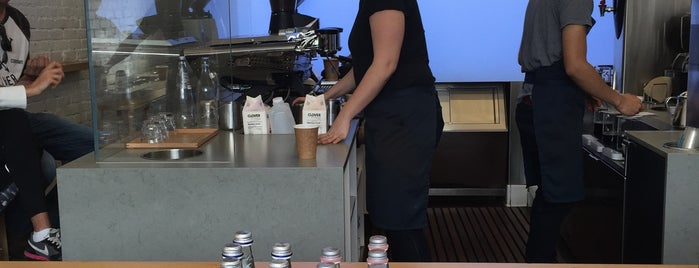 Blue Bottle Coffee is one of Guide to Downtown LA Coffee Culture.