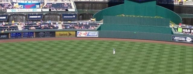 Kauffman Stadium is one of MLB.