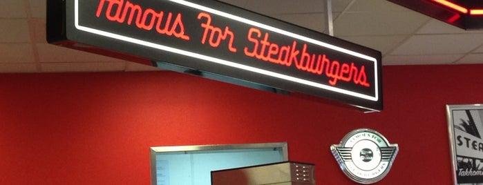 Steak 'n Shake is one of favorites 2.