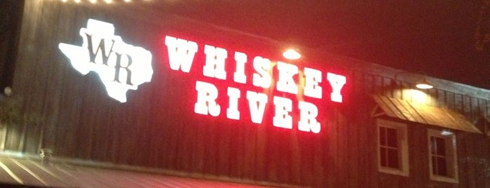 Whiskey River Dancehall & Saloon is one of Htown.