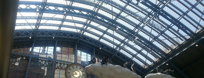 St Pancras International Station (STP) — Thameslink is one of London - All you need to see!.