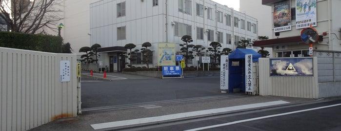 東映東京撮影所 is one of ロケ場所など.