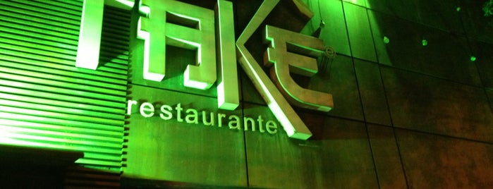 Takê is one of 20 favorite restaurants.