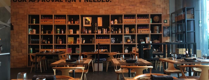 Canalla Bistro México is one of Wishlist.