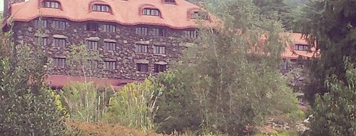 The Omni Grove Park Inn is one of Daingerfield/Davenport Wedding in Asheville!.