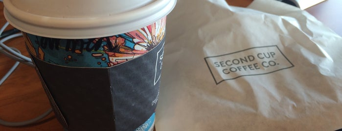 Second Cup is one of Lugares favoritos de Ethan.