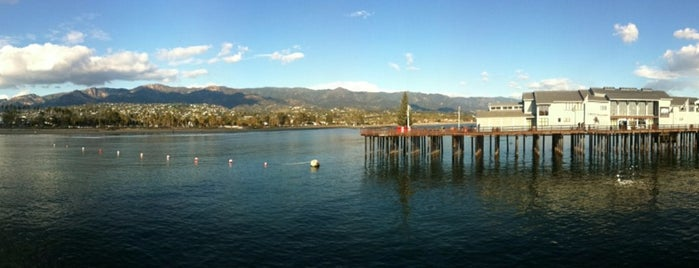 Stearns Wharf is one of Califórnia.
