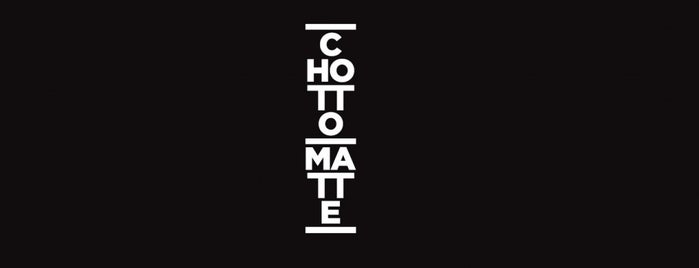 Chotto Matte is one of London Fashion Week.