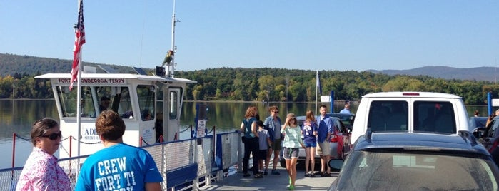 Lake Champlain Ferry is one of Lugares favoritos de Nicholas.