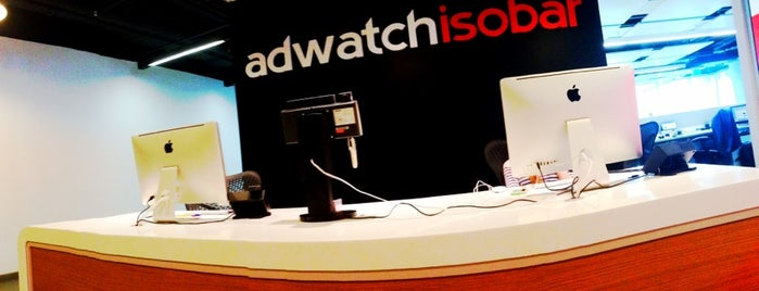 AdWatch Isobar is one of Andrey: сохраненные места.