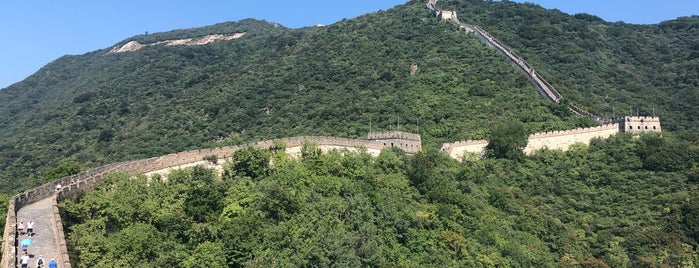 The Great Wall at Mutianyu is one of Tempat yang Disimpan Marco.