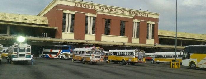 Gran Terminal Nacional de Transporte is one of Amanda'nın Beğendiği Mekanlar.