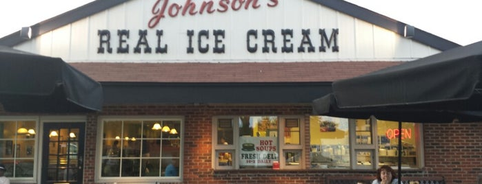 Johnson's Real Ice Cream is one of Grubbies.