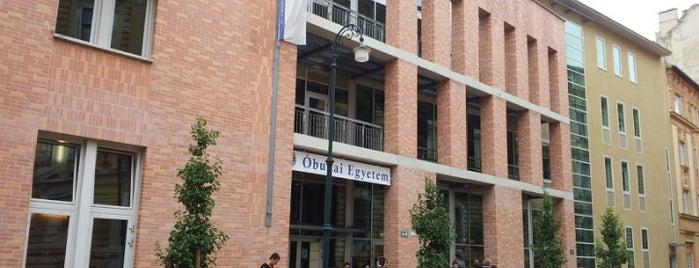 "Óbudai Egyetem, KGK, ""TG. ép"" is one of Mertさんのお気に入りスポット."