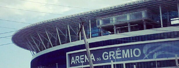 Arena do Grêmio is one of Porto Alegre Tour.