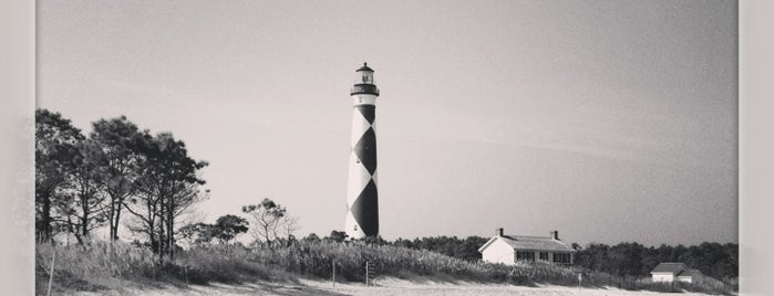 Cape Lookout Lighthouse is one of Lugares guardados de Cris.