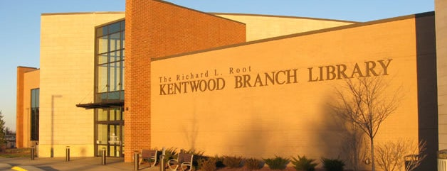 Kent District Library - Kentwood (Richard L. Root) Branch is one of Favorite establishments in GR.
