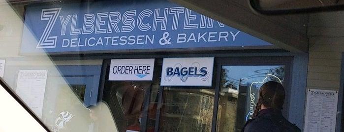 Zylberschtein's Delicatessen & Bakery is one of Seattle - Bagels.