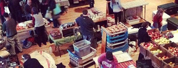 Somerville Winter Farmers Market is one of Tempat yang Disukai Steve.