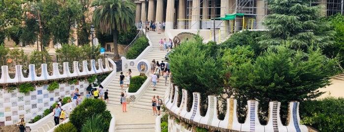 Parc Güell is one of Barcelona.