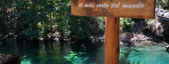 Rio Correntoso is one of bariloche.
