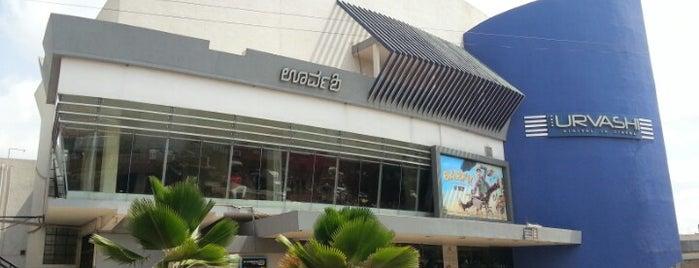 Urvashi Cinemas is one of Tempat yang Disimpan Derrick.
