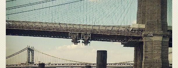 Brooklyn Bridge Park is one of JB's Top NYC Spots.