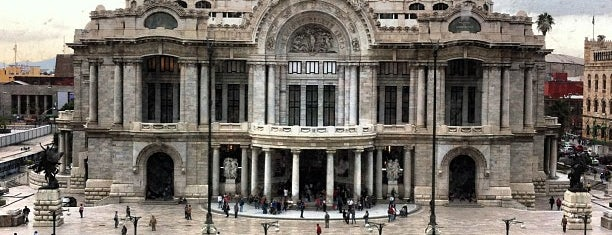 Palacio de Bellas Artes is one of Mexico city.
