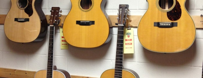 Harry's Guitar Shop is one of Raleigh Localista Favorites.