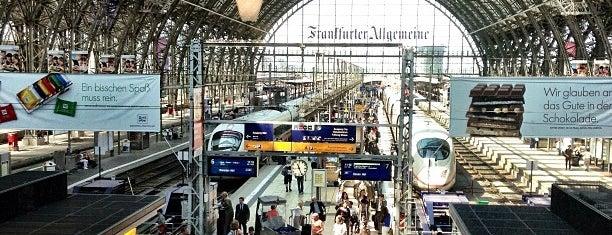 Frankfurt (Main) Hauptbahnhof is one of Lugares favoritos de Vangelis.