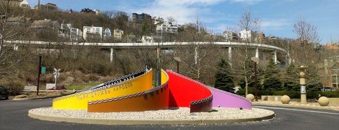 Theodore M Berry International Friendship Park is one of Cincinnati Riverfront.