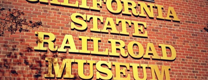 California State Railroad Museum is one of West Coast Sites.