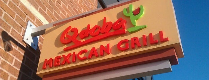 Qdoba Mexican Grill is one of Eateries.