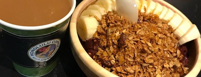 Honolulu Coffee Co. is one of Tempat yang Disukai David.