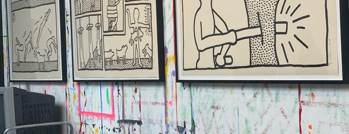 Keith Haring Foundation is one of New York.