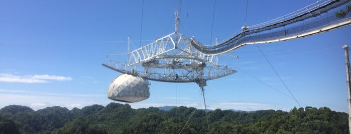 Observatorio de Arecibo is one of Cool Places to Visit.
