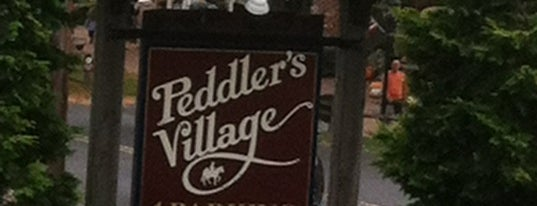 Peddler's Village is one of Non restaurants.