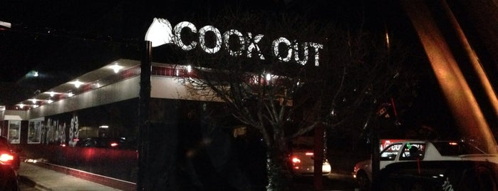 Cook-Out is one of Great eats.